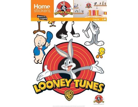 Sticker mural Bugs Bunny et ses amis