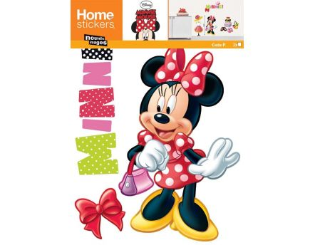 Sticker mural Minnie fashion