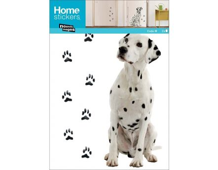 Sticker mural chiens dalmatiens