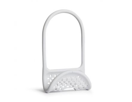 Support accessoires robinet (Blanc)