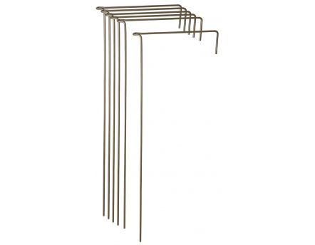 Support à plantes en acier (Lot de 6) (60 cm)