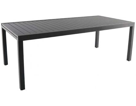 Table en aluminium avec allonge Malaga