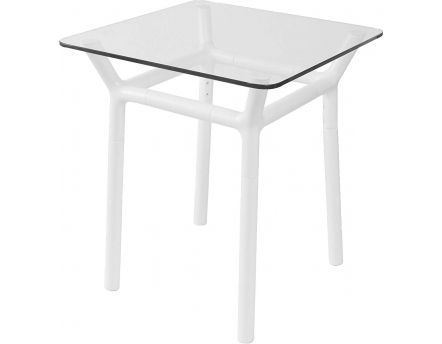 Table d'appoint Konnect (Blanc )