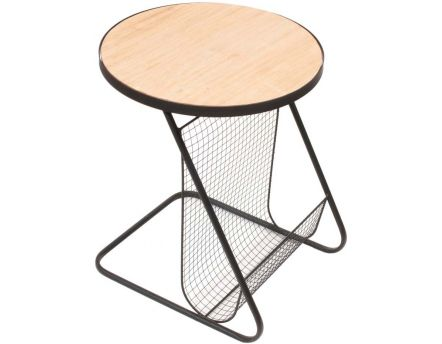 Table d'appoint porte-revues