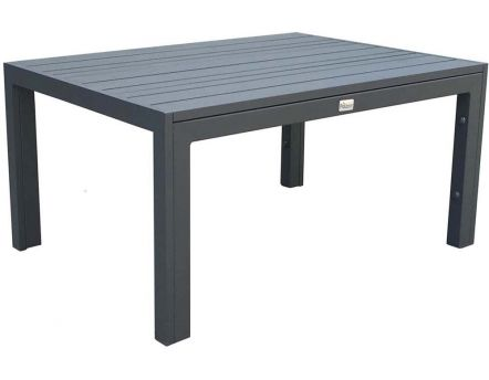 Table basse en aluminium MT (Gris)