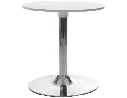 Table d'appoint ronde Mars (Blanc)