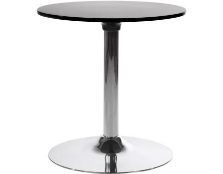 Table basse ronde Mars (Noir)