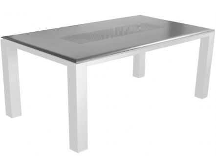 Table de jardin Florence 180cm (Gris)