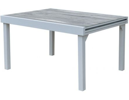 Table de jardin Modulo wood 135 à 270 cm