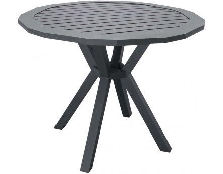 Table de jardin en métal - Jardindeco