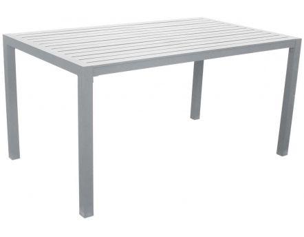 Sarana Jardin De 150 Cmblanc Table En Aluminium NwnkX8O0PZ