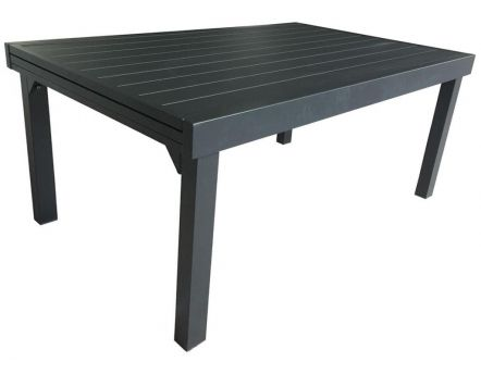 Table jardin full aluminium Modulo 135 à 270 cm