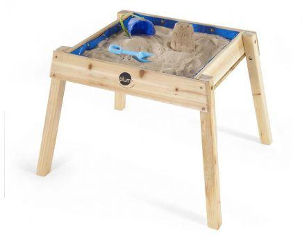 Bac sable en c dre avec bancs et couvercle - Table bac a sable bois ...