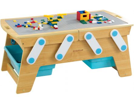 Table pour jeux de constructions Building Bricks