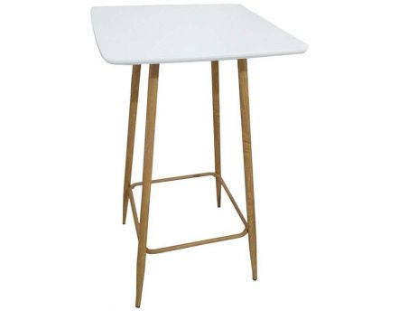Table mange-debout style scandinave