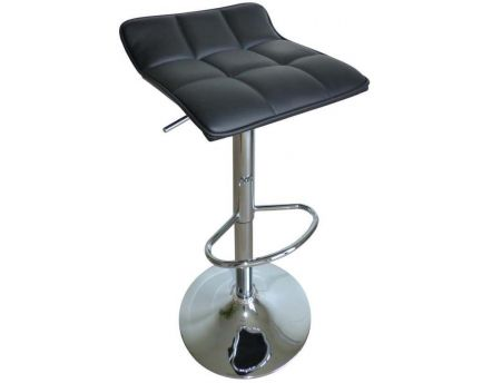 Tabouret de bar Tom (Noir Noir)