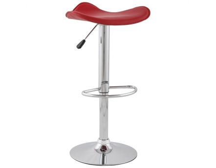 Tabouret de bar Trio (Rouge)