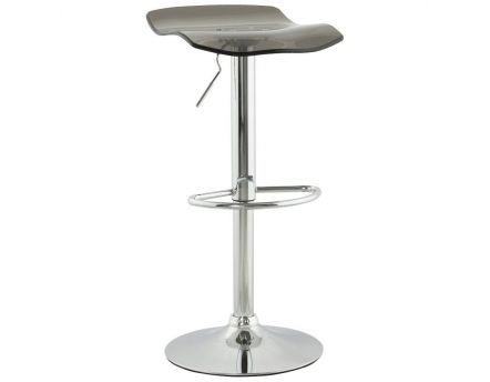 Tabouret de bar plexiglass Surf (Smoke)