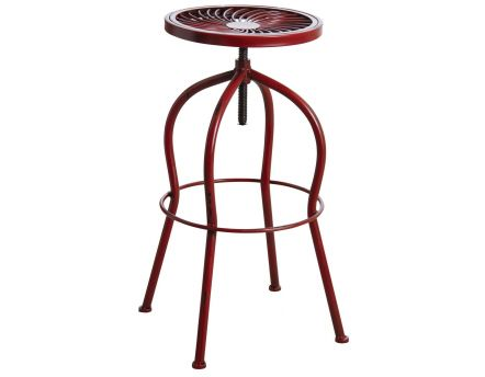 048f17103646a Table   tabouret de bar par AUBRY GASPARD sur Jardindeco.com