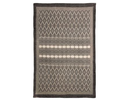 tapis en coton d lav motifs 90x150 cm. Black Bedroom Furniture Sets. Home Design Ideas