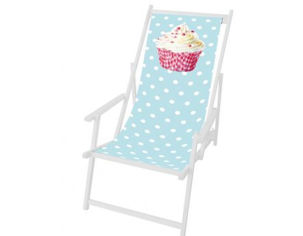 Toile Cupcake en polyester pour chilienne
