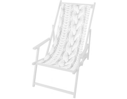 Toile Pull blanc en polyester pour chilienne