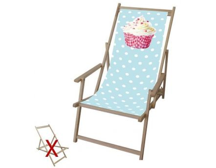 Toile pour chilienne Cupcake en polyester