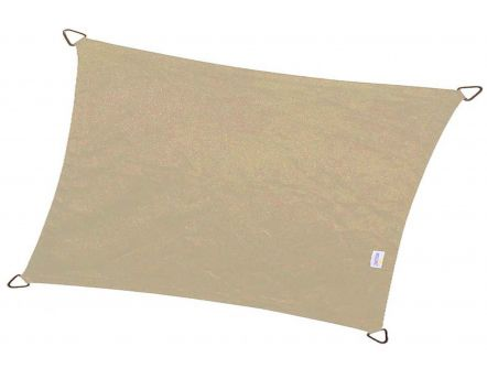 Voile d'ombrage rectangulaire Coolfit 4 x 3 m (Sable)