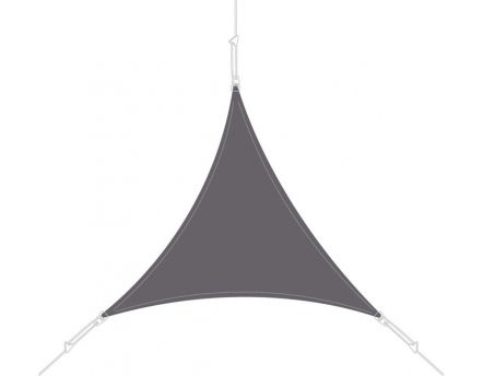 Voile d'ombrage triangle 3 x 3 x 3m (Ardoise)
