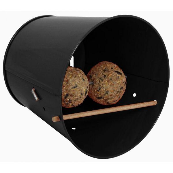 abri pour oiseaux et insectes 5 en 1 garden life box gris anthracite. Black Bedroom Furniture Sets. Home Design Ideas
