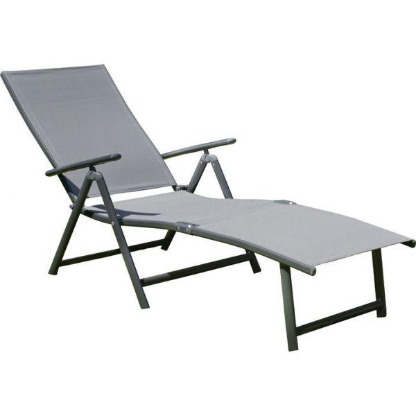 bain de soleil pliable aluminium toronto jardindeco. Black Bedroom Furniture Sets. Home Design Ideas