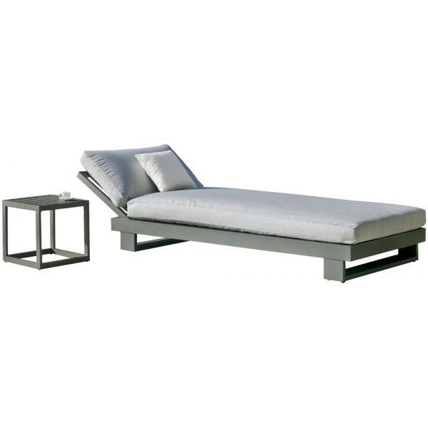 Bain De Avec En Amayes Soleil Basse Aluminium Table L4Rj53A