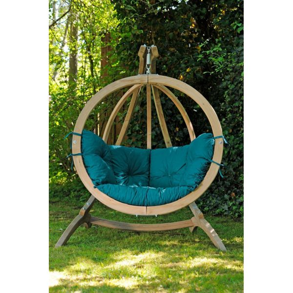 Balancelle Globo chaise coussin et support - 5
