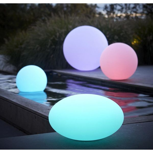 Boule lumineuse LED 7 couleurs - WIS-0166