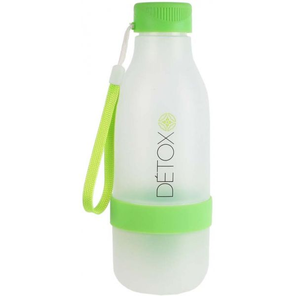 bouteille d tox avec presse agrumes int gr 60 cl vert