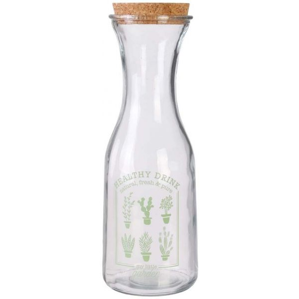 Carafe My Little Market 1 litre (Lot de 3) - THE HOME DECO FACTORY