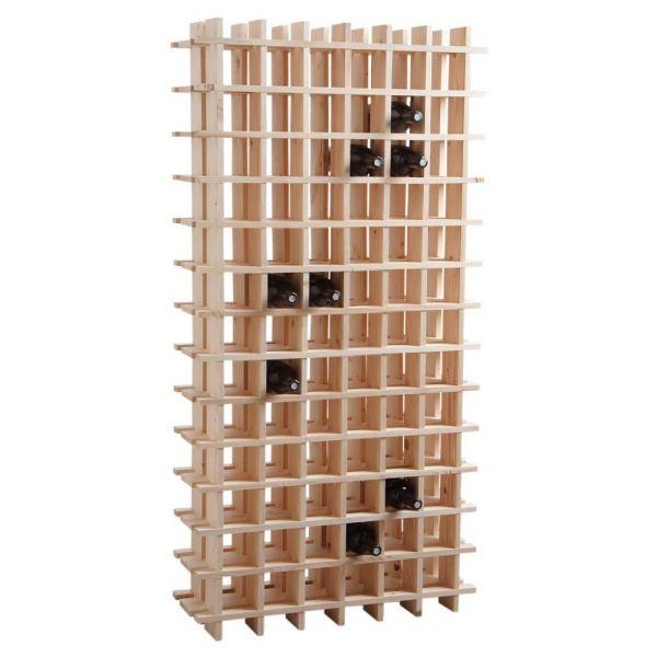 casier vin en bois 78 bouteilles. Black Bedroom Furniture Sets. Home Design Ideas