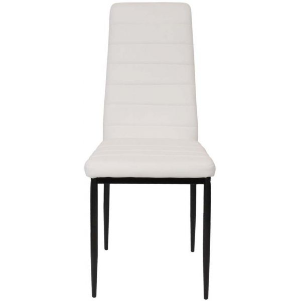 Chaise assise et dossier en PVC Victor - THE HOME DECO FACTORY