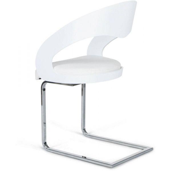 e2166fa90af37 ... Chaise design similicuir Mona - 249 ...