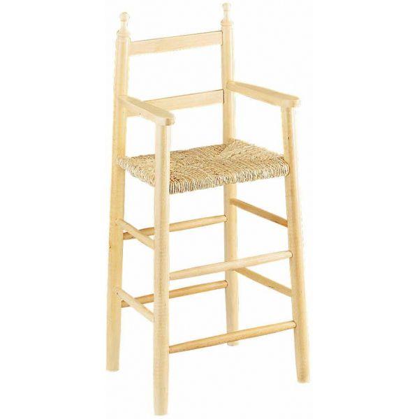 chaise enfant hêtre brut