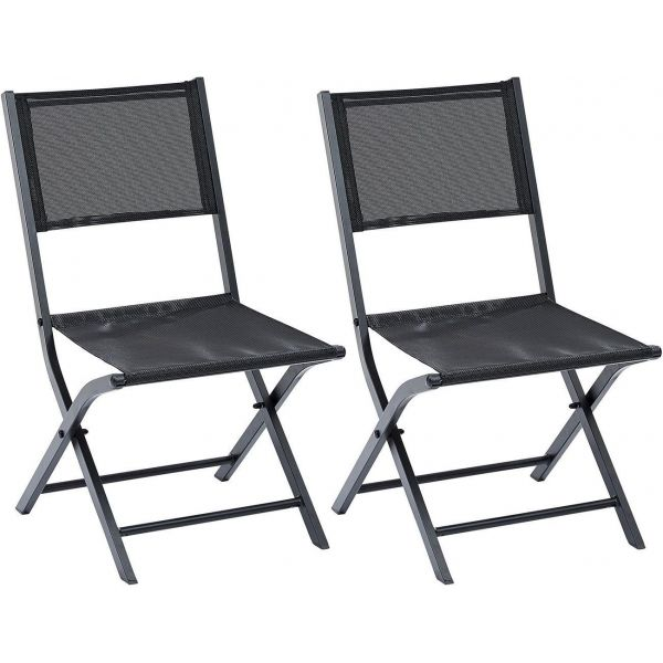 Chaise pliante Modulo (Lot de 2)