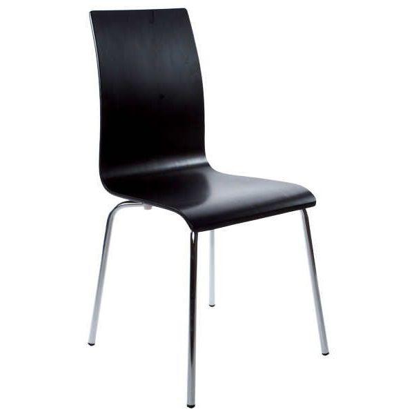 chaise repas design classic noir. Black Bedroom Furniture Sets. Home Design Ideas