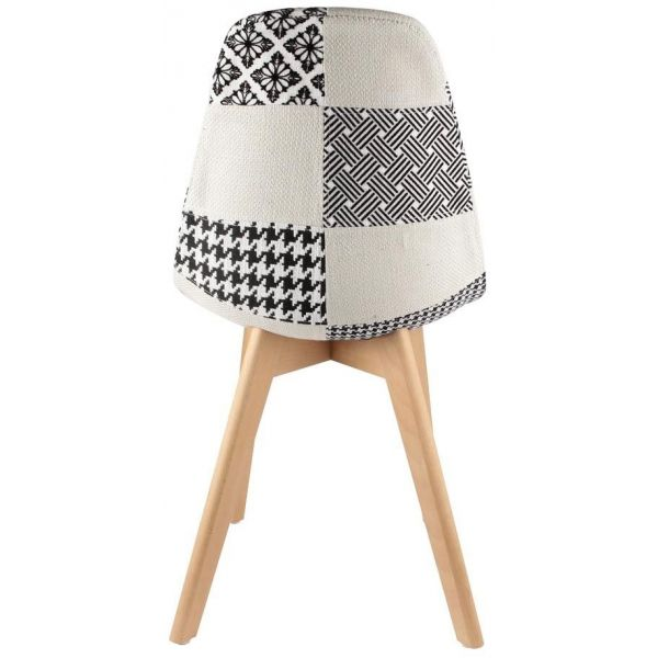 Chaise scandinave Patchwork - 69,90