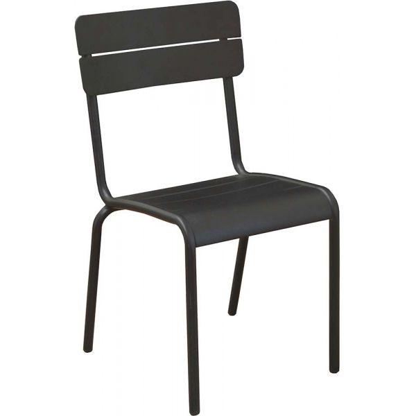Chaises En Aluminium Ecole Lot De 2