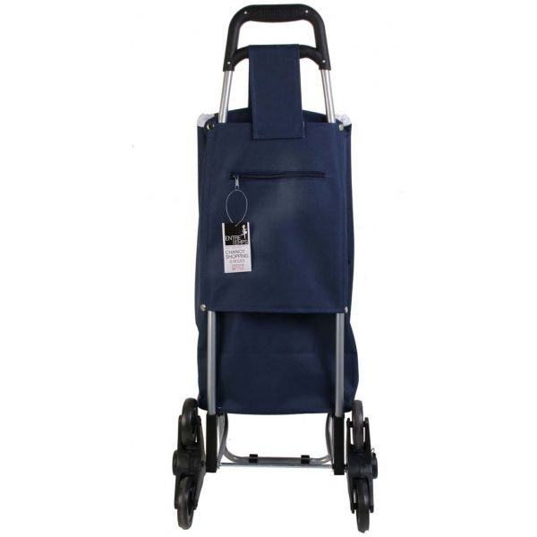 Chariot shopping en polyester 6 roues - 21,90