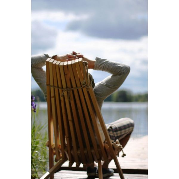 Chilienne bois EcoChair (coussin offert) - 169