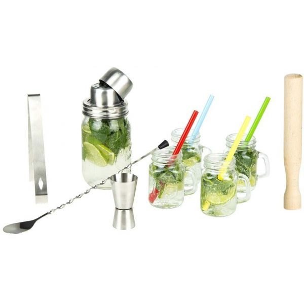 Coffret à cocktail avec 4 shooters 10 cl - CMP-0663