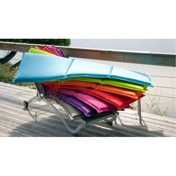 coussin bain de soleil garden lot de 2 orange. Black Bedroom Furniture Sets. Home Design Ideas