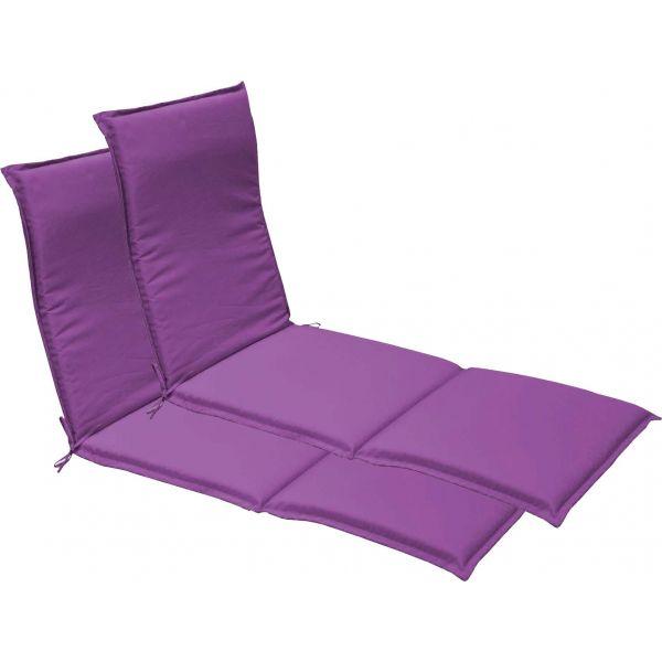 coussin bain de soleil garden lot de 2 cassis. Black Bedroom Furniture Sets. Home Design Ideas