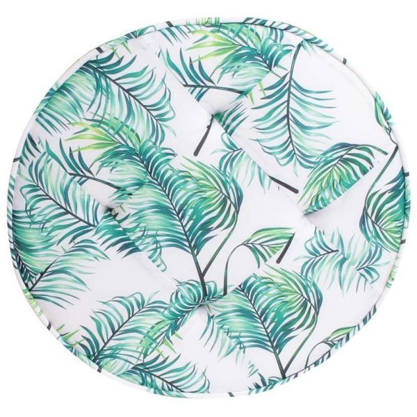 Coussin de sol rond  tropical 50 cm - TOTALLY ADDICT